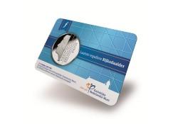 2½ gulden FDC 2001 in coincard uitgegeven in 2015
