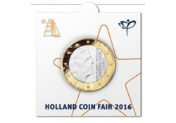 1 Euro Nederland 2016 Bu Holland Coin Fair