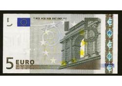 5 Euro UNC X Duitsland
