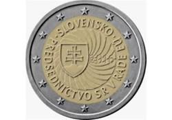 2 Euro Slowakije 2016 Voorzitter Eu Unc