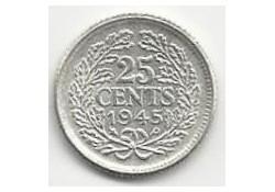 25 Cent 1945 PE FDC Zeldzaam