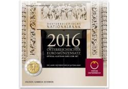 Bu set Oostenrijk 2016 met de 2 euro 200 jaar nationale bank