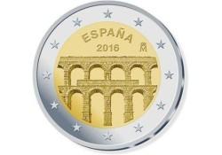2 Euro Spanje 2016 Aquaduct van Segovia Unc