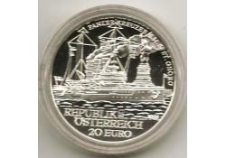 Oostenrijk 2005 20 euro S.M.S.St. Georg Proof Incl dsje & cert