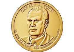 KM ??? U.S.A. 38 th President Dollar 2016 P Gerald R. Ford
