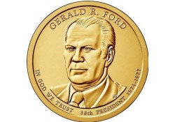 KM ??? U.S.A. 38 th President Dollar 2016 D Gerald R. Ford
