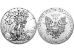 Km 273 U.S.A. Silver Eagle 2016 Unc 1 Ounce