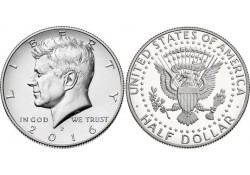 KM ??? U.S.A. ½ Dollar 2016...