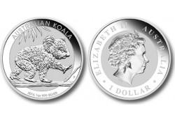 Km ??? Australië 1 Dollar Koala 2016 1 Ounce Zilver Proof