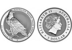 Km ??? Australië 1 Dollar Wigstaart Arend 2016 1 Ounce Zilver Proof