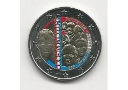 2 Euro Luxemburg 2015 Dynasty Gekleurd