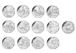 Frankrijk 2016 12x 10 Euro Petit Prince Unc