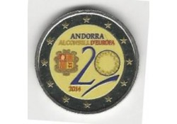 2 Euro Andorra 2014 Lidmaatschap Raad van Europa