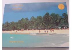 FDC set Aruba 1987 lees de tekst aub!