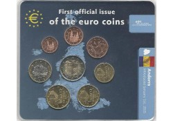 Bu set Andorra 2014 First Official issue