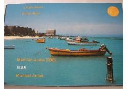 FDC set Aruba 1988 Lees de tekst!