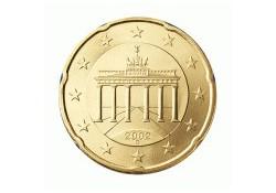 20 Cent Duitsland 2010 A UNC