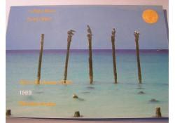 FDC set Aruba 1989