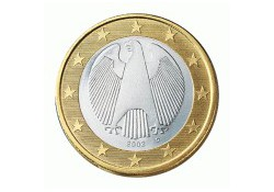 1 Euro Duitsland 2010 F UNC