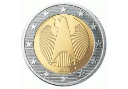 2 Euro Duitsland 2010 F UNC