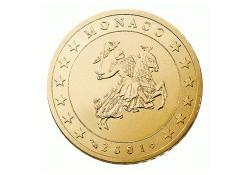 Monaco 2002 50 cent Unc