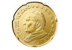 20 Cent Vaticaan 2002 UNC
