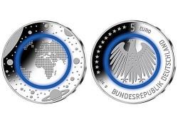 Duitsland 2016 A 5 euro Planeet Aarde  Unc