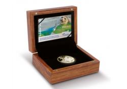 Nederland 2016 Het Waddentientje goud in originele box