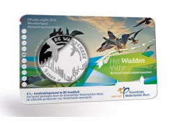 Nederland 2016 het Waddenvijfje Bu in coincard