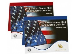 Uncirculated Coin Set 2016 D & P