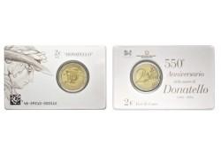 2 Euro Italië 2016 Donatello in coincard