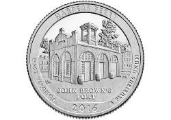 KM ??? U.S.A ¼ Dollar Harpers Ferry 2016 P UNC