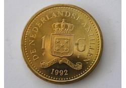 1 Gulden Nederl. Ant. 1992 FDC