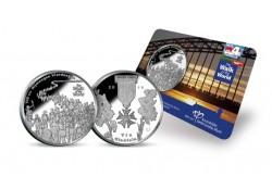 Penning 2016 100ste Nijmeegse Vierdaagse Bu in coincard