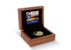 Penning 2016 100ste Nijmeegse Vierdaagse goud proof