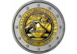 2 Euro Andorra 2015 30 jaar stemrecht Voorverkoop*