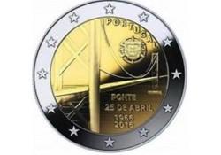 2 Euro Portugal 2016 50 jaar brug Unc
