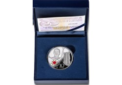 Spanje 2016 10 Euro Contemporanea Zilver proof