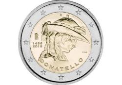 2 Euro Italië 2016 Donatello Unc