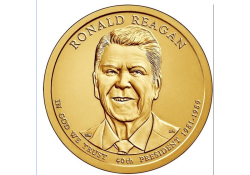 KM ??? U.S.A. 40 th President Dollar 2016 P Ronald Reagan