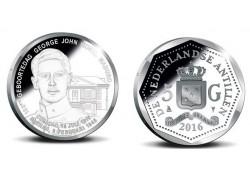 5 Gulden Nederlandse Antillen 2016 Proof George Maduro Voorverkoop*