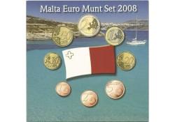 Unc set Malta 2008 in blister met penning (molen)