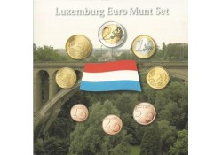 Unc serie Luxemburg 2008 in blister met penning