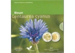 Luxemburg 2016 5 euro Bleuet Centaurea Cyanus