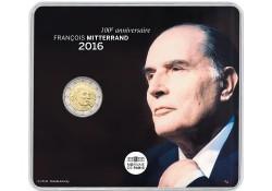 2 Euro Frankrijk 2016 Mitterrand Bu