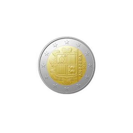 2 Euro Andorra 2014 Unc