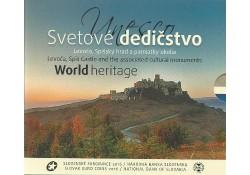Bu set Slowakije 2016 World Heritage Bu