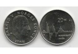 Km ??? Noorwegen 20 Kroner...