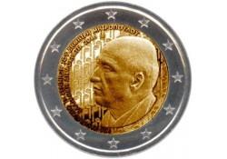 2 Euro Griekenland 2016 Dimiitri Mitropoulos  Unc Voorverkoop*