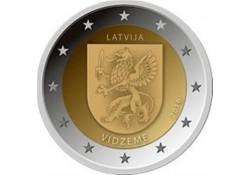 2 Euro Letland 2016 Vidzeme Unc Presale